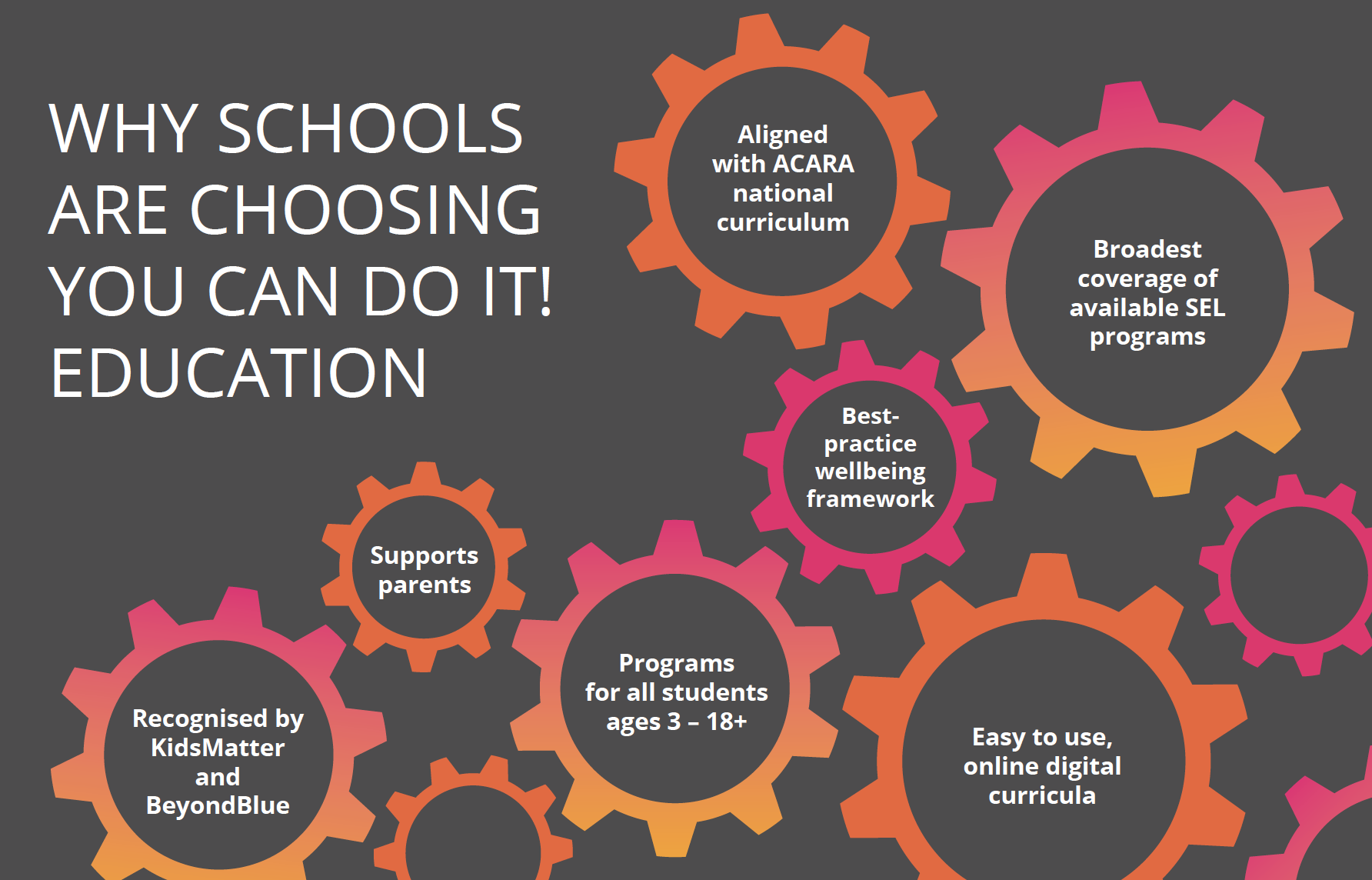 Why Schools are Choosing YCDI!